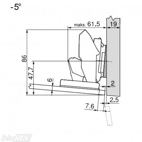 CRISTALLO lanksto komplektas N106