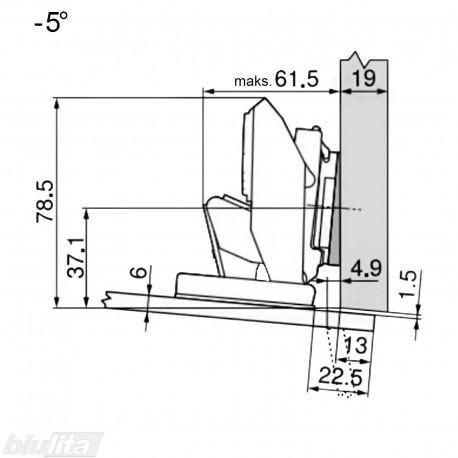 CRISTALLO lanksto komplektas N107