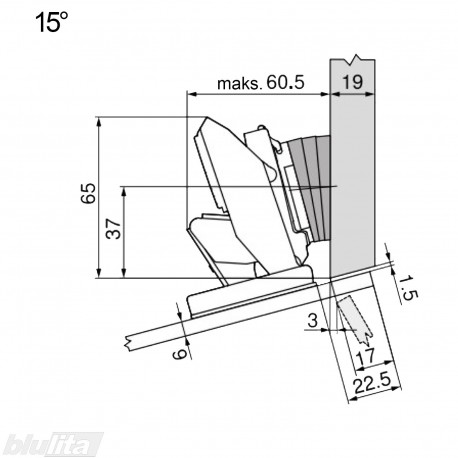 CRISTALLO lanksto komplektas N102