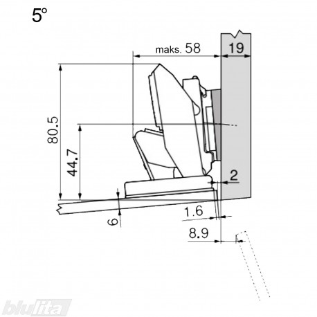CRISTALLO lanksto komplektas N103