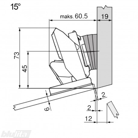CRISTALLO lanksto komplektas N105