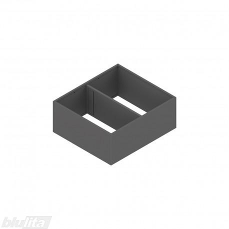 AMBIA-LINE plieninis rėmelis su magnetine nugarėle, plotis242mm, gylis270mm, aukštis111mm, tamsiai pilkas