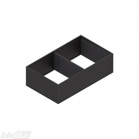 AMBIA-LINE plieninis rėmelis su magnetine nugarėle, plotis218mm, gylis400mm, aukštis111mm, juodas