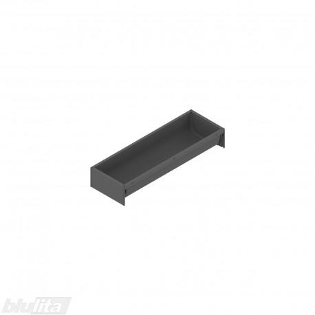 AMBIA-LINE įrankių dėklas su SOFTTOUCH padengimu, plotis300mm, gylis100mm, aukštis50,5mm, tamsiai pilkas