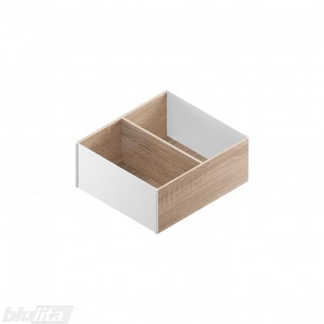 AMBIA-LINE medinis rėmelis, plotis242mm, gylis270mm, aukštis111,5mm, Bardolino ąžuolas/baltas