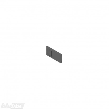 AMBIA-LINE skersinė pertvarėlė plieniniam rėmeliui, plotis92,6mm, aukštis50mm, tamsiai pilka