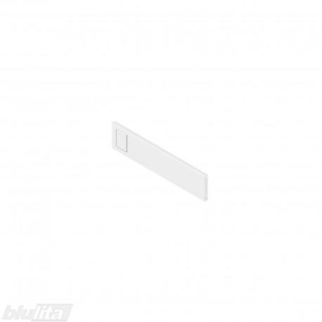 AMBIA-LINE skersinė pertvarėlė plieniniam rėmeliui, plotis192,6mm, aukštis50mm, balta