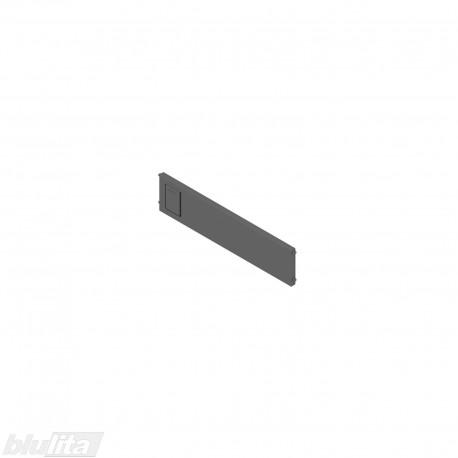 AMBIA-LINE skersinė pertvarėlė plieniniam rėmeliui, plotis192,6mm, aukštis50mm, tamsiai pilka