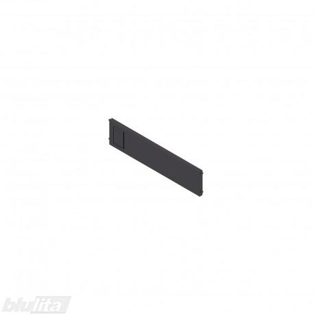 AMBIA-LINE skersinė pertvarėlė plieniniam rėmeliui, plotis192,6mm, aukštis50mm, juoda