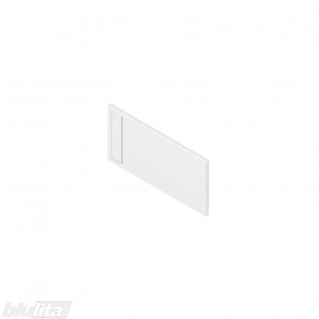 AMBIA-LINE skersinė pertvarėlė plieniniam rėmeliui, plotis211,1mm, aukštis110mm, balta
