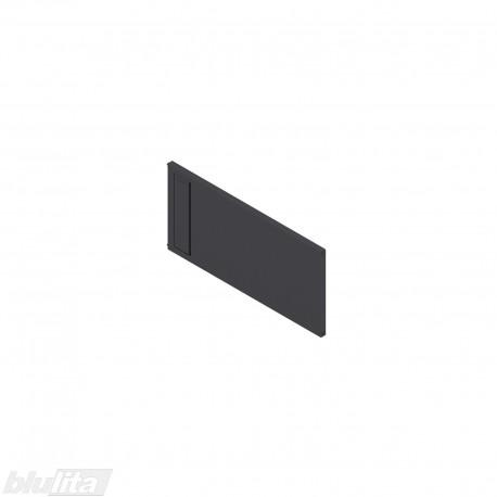 AMBIA-LINE skersinė pertvarėlė plieniniam rėmeliui, plotis211,1mm, aukštis110mm, juoda