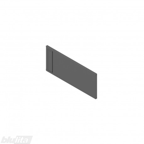 AMBIA-LINE skersinė pertvarėlė plieniniam rėmeliui, plotis235,1mm, aukštis110mm, tamsiai pilka