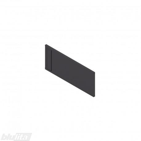 AMBIA-LINE skersinė pertvarėlė plieniniam rėmeliui, plotis235,1mm, aukštis110mm, juoda