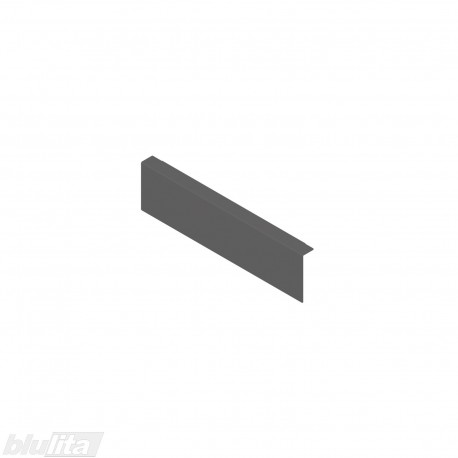 AMBIA-LINE adapteris plieniniam rėmeliui su magnetine nugarėle, aukštisM, tamsiai pilkas