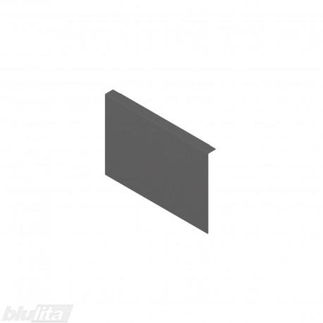 AMBIA-LINE adapteris plieniniam rėmeliui su magnetine nugarėle, aukštisC, tamsiai pilkas