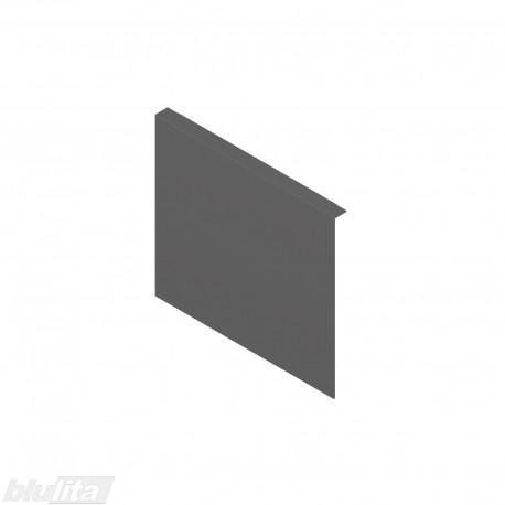 AMBIA-LINE adapteris plieniniam rėmeliui su magnetine nugarėle, aukštisF, tamsiai pilkas