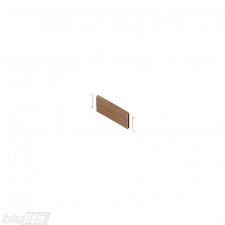 AMBIA-LINE skersinė pertvarėlė mediniams rėmeliams, plotis87,6mm, aukštis50mm, Tenesio riešutmedis