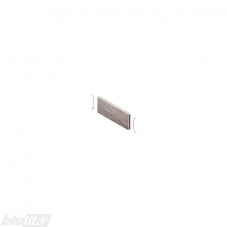 AMBIA-LINE skersinė pertvarėlė mediniams rėmeliams, plotis87,6mm, aukštis50mm, Nebrasko ąžuolas
