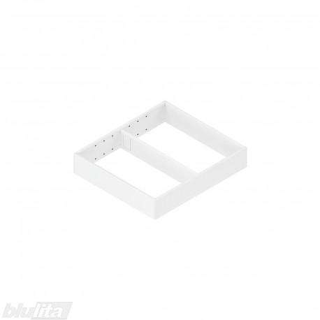 AMBIA-LINE plieninis rėmelis su magnetine nugarėle, plotis242mm, gylis270mm, aukštis50,7mm, baltas
