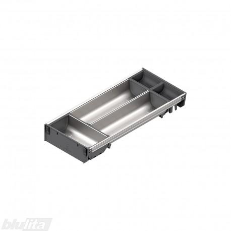 ORGA-LINE nerūdijančio plieno lovelių rinkinys, gylis 450 mm, BI2