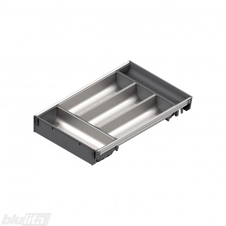 ORGA-LINE nerūdijančio plieno lovelių rinkinys, gylis 450 mm, BI3