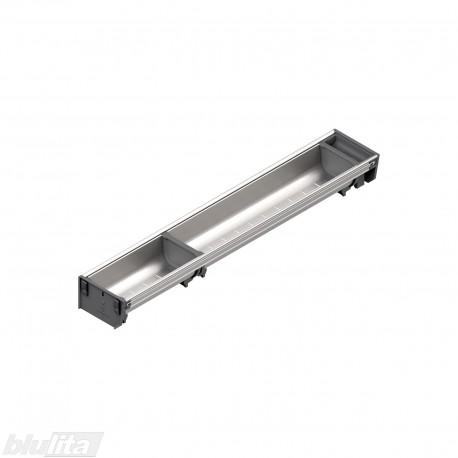 ORGA-LINE nerūdijančio plieno lovelių rinkinys, gylis 600 mm, BI1