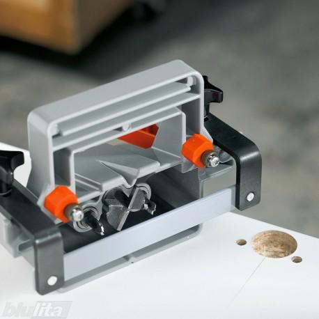 ECODRILL rankinis įrenginys lankstų gręžimui, su Ø35mm freza ir 2 grąžtais Ø8mm