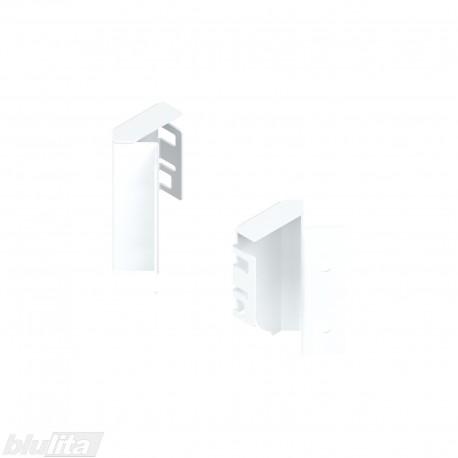 TANDEMBOX nugarėlės laikikliai 45°, Maukštis, baltos spalvos, pora
