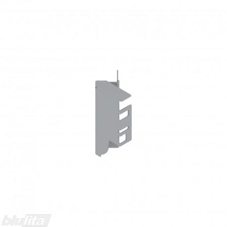 TANDEMBOX nugarėlės laikiklis 45°, Maukštis, pilkos spalvos, dešinys