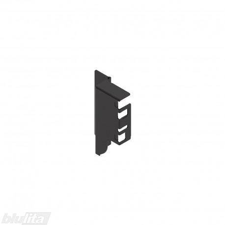 TANDEMBOX INTIVO / ANTARO nugarėlės laikiklis M, TERRA BLACK, dešinė