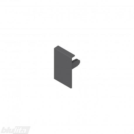 TANDEMBOX antaro vidinio stalčiaus fasado laikiklis, Maukštis, tamsiai pilkos spalvos, dešinys