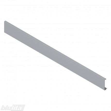 TANDEMBOX intivo/antaro vidinio stalčiaus fasado profilis, ilgis 1036 mm, be įlaidos, pilkos spalvos, simetriškas
