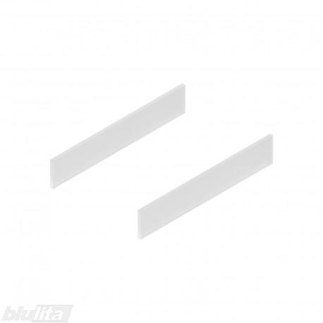 TANDEMBOX antaro dizaino elementai NL 350mm, Caukštis, matinis stiklas, pora
