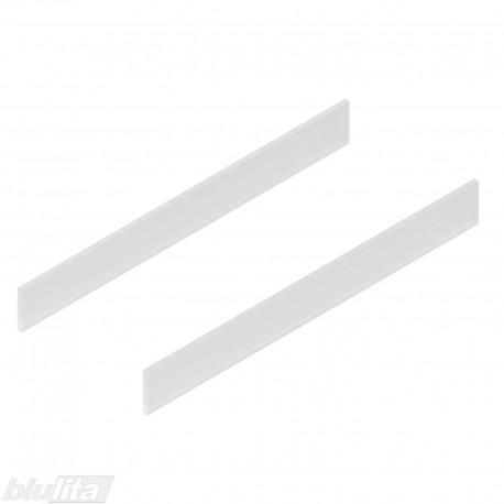 TANDEMBOX antaro dizaino elementai NL 550mm, Caukštis, matinis stiklas, pora