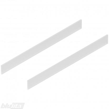 TANDEMBOX antaro dizaino elementai NL 650 mm, C aukštis, matinis stiklas, pora