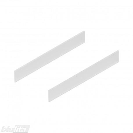 TANDEMBOX antrado dizaino elementai NL 450 mm, C auktšis, matinis stiklas, pora