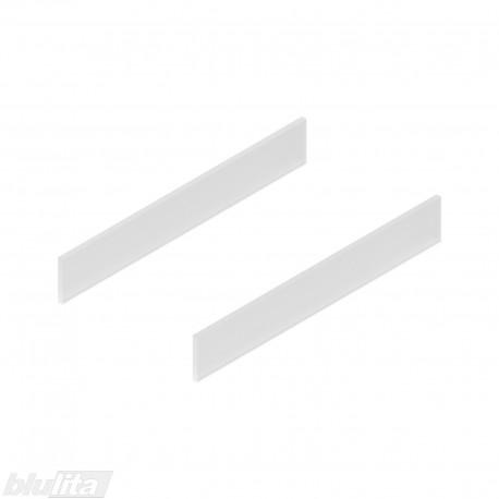 TANDEMBOX antaro dizaino elementai NL 400mm, Caukštis, matinis stiklas, pora