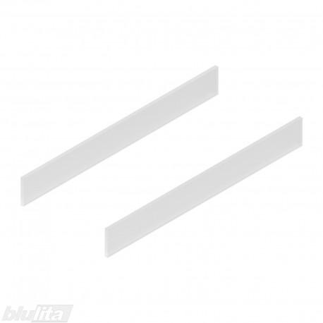 TANDEMBOX antaro dizaino elementai NL 500mm, Caukštis, matinis stiklas, pora