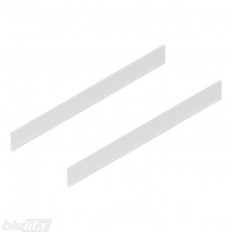 TANDEMBOX antaro dizaino elementai NL 600mm, Caukštis, matinis stiklas, pora