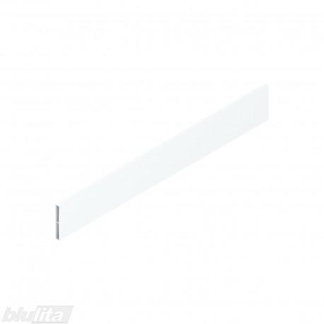 """TANDEMBOX antaro dizaino elementas NL 450mm, Caukštis, metalas, baltos """"Silk"""" spalvos, simetriškas"""