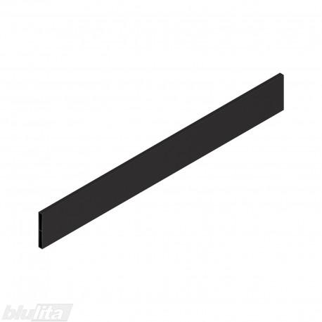 """TANDEMBOX antaro dizaino elementas NL 500mm, Caukštis, metalas, juodos """"Terra"""" spalvos, simetriškas"""