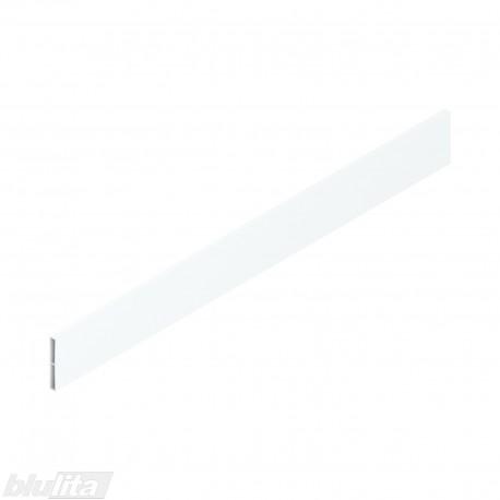 TANDEMBOX ANTARO stalčių šonų paaukštinimas, aliuminis, aukštis C ( 59,5mm), 550 mm SILK WHITE