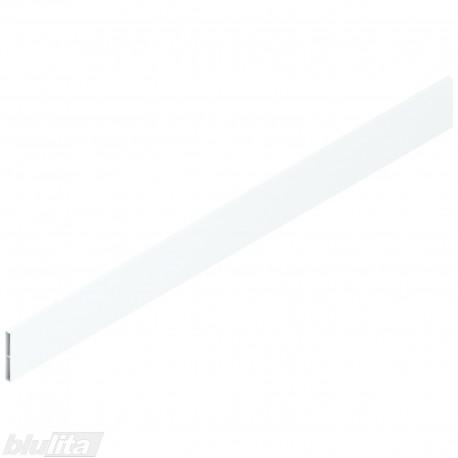 """TANDEMBOX antaro dizaino elementas NL 650mm, Caukštis, metalas, baltos """"Silk"""" spalvos, simetriškas"""
