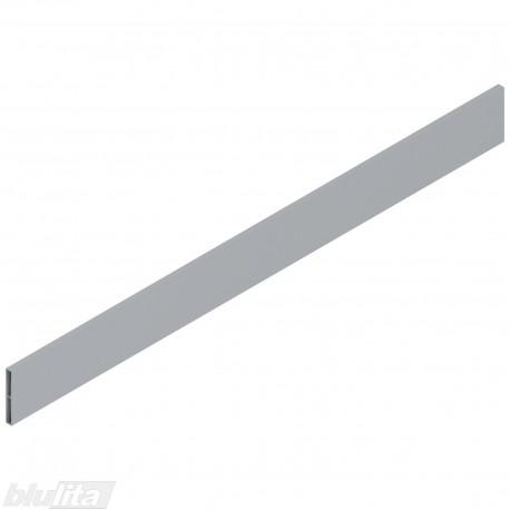 TANDEMBOX antaro dizaino elementas NL 650mm, Caukštis, metalas, pilkos spalvos, simetriškas