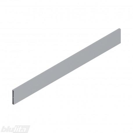 TANDEMBOX antaro dizaino elementas NL 550mm, Caukštis, metalas, pilkos spalvos, simetriškas