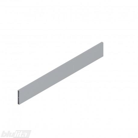 TANDEMBOX antaro dizaino elementas NL 450mm, Caukštis, metalas, pilkos spalvos, simetriškas