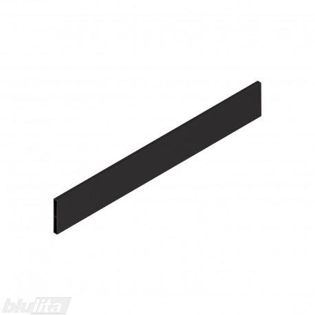 """TANDEMBOX antaro dizaino elementas NL 450mm, Caukštis, metalas, juodos """"Terra"""" spalvos, simetriškas"""