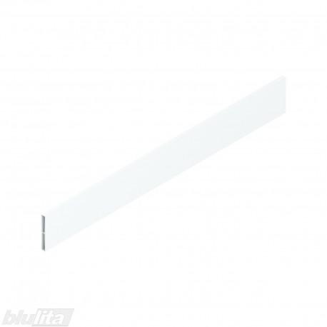 """TANDEMBOX antaro dizaino elementas NL 500mm, Caukštis, metalas, baltos """"Silk"""" spalvos, simetriškas"""