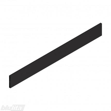 """TANDEMBOX antaro dizaino elementas NL 550mm, Caukštis, metalas, juodos """"Terra"""" spalvos, simetriškas"""