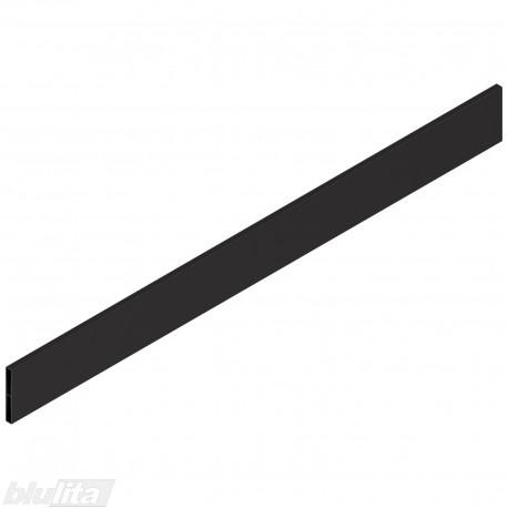 """TANDEMBOX antaro dizaino elementas NL 650mm, Caukštis, metalas, juodos """"Terra"""" spalvos, simetriškas"""
